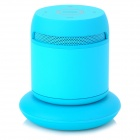 DOSS DS-1189 Wireless Bluetooth V3.0 2-CH Speaker w/ Mic + Charging Dock for Cellphones - Blue