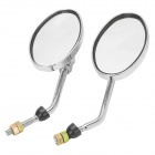 Eagle Ellipse Shaped Motorcycle Rearview Mirror (Pair)