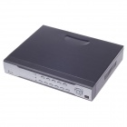 2004 Embedded Linux 4-Channel H.264 Network Digital Video Recorder w/ Wired Mouse - Black + Silver