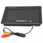 "7 ""TFT LCD 2-CH Digital Rear View Monitor w / controle remoto (PAL / NTSC)"