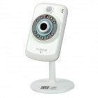 FUJIKAM FI-321 1/4 CMOS 1.0MP Security Surveillance Cloud IP Camera w/ TF / 9-IR LED / Wi-Fi - White