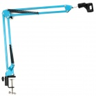 NB-35 360 Degree Rotatable Metal Recording Microphone Stand - Blue + Black