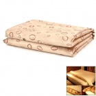KAX KAX0081 Brocade Quilt Warming / Drying Pad / Mat - Light Coffee