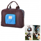 WINNER A48 Convenient Folding Nylon Shopping Bag - Coffee + Blue