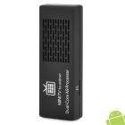 MK808B Android 4.2.2 Mini PC Google TV Player w/ WiFi / Allwinner A20 / TF / HDMI - White + Black