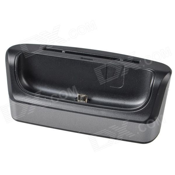 TEMEI USB Desktop Battery + Cell Phone Data Charging Dock Station for Samsung i9200- Black + Grey поиск семена томат сунгари f1 10штв д