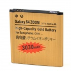 Replacement 3.8V 2680mAh Batteries for Galaxy S4 ZOOM - Golden
