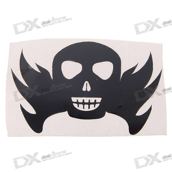 Death Skull Style Non-Stick DIY Ornament
