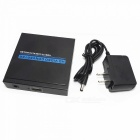 HDMI AV NTSC / PAL HD Video Audio Converter - Schwarz + Weiß