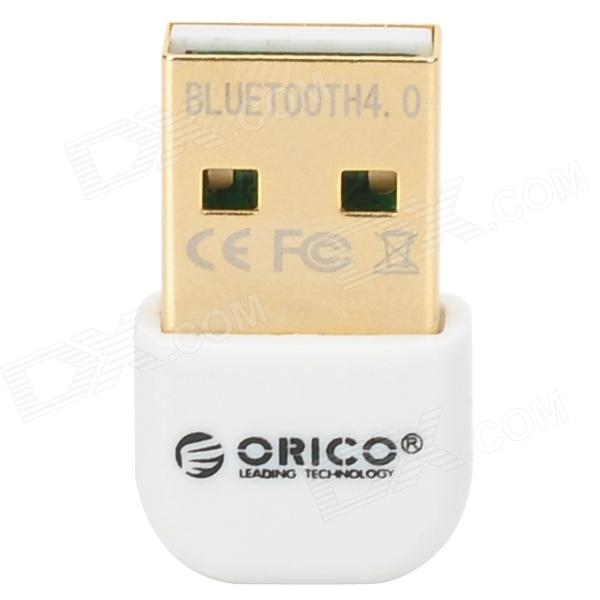 ORICO BTA-403-WH Mini CSR8510 Chipset Bluetooth V4.0 USB 2.0 mottagare - vit