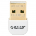 ORICO BTA-403-WH Mini Bluetooth V4.0 Chipset CSR8510 USB 2.0 Receiver - Weiß