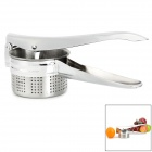 Stainless Steel Large Manual Lemon / Orange / Potato Juicer Squeezer / Presser Tool - Silver