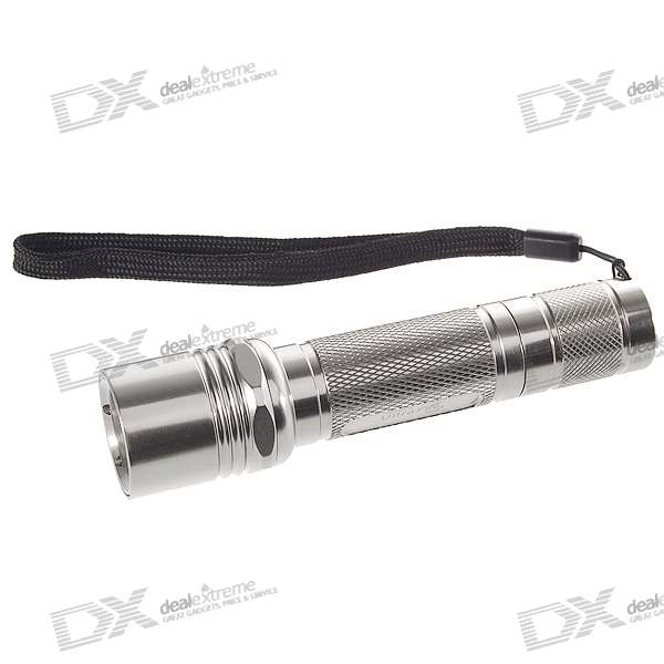 UltraFire 504B HA-III 5-Mode 220-Lumen LED Flashlight w/ Cree R2-WC (1*18650)