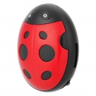 HYTJK007 Beetle Style Rechargeable 3.5mm Jack MP3 Player w/ TF Slot / Mini USB - Red + Black