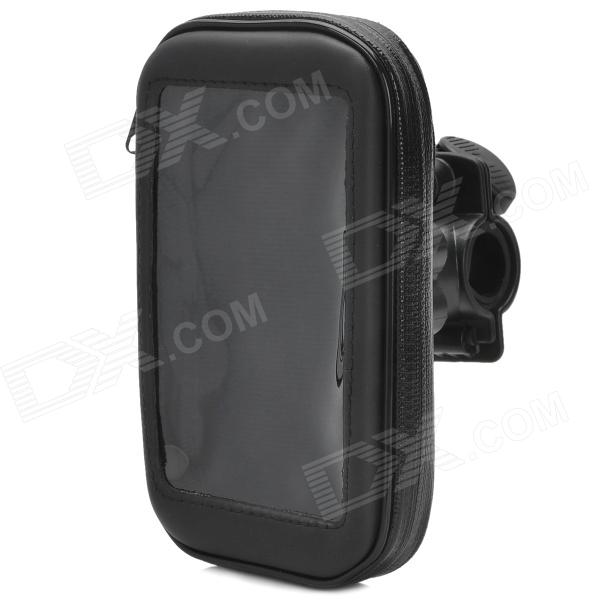 Motorcycle / Bicycle Water Resistant Bag + Mount Holder for Samsung i9500 / i9300 / i9100