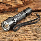 UltraFire WF-504B CREE XM-L T6 LED 450lm 5-Mode Memory Cool White Flashlight - Black (1 x 18650)
