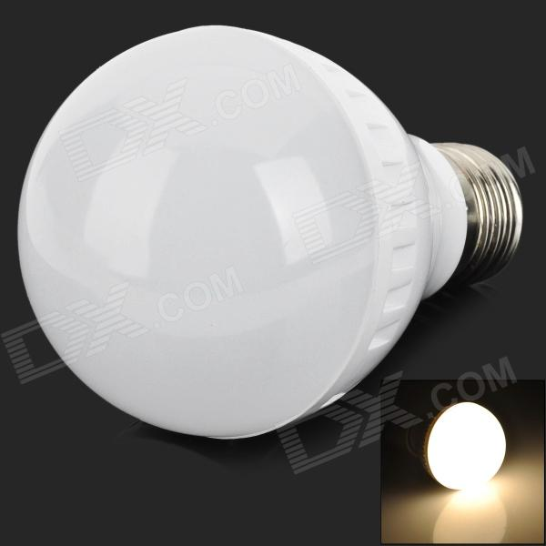JZ-E27-7W-WW E27 7W 450lm 3300K 23-2835 SMD LED Warm White Bulb - White (Rated Voltage) - DXE27<br>Brand N/A Model JZ-E27-7W-WW Material Metal + plastic Color White Quantity 1 Emitter Type 2835 SMD Total Emitters 23 Power 7 W Color BIN Warm white Rate Voltage 220~240 V Chip Working Voltage 3.2~3.5V Luminous Flux 400~450 lm Color Temperature 3000~3300 K Wavelength No nm Connector Type E27 Application Indoor lighting Packing List 1 x Bulb<br>