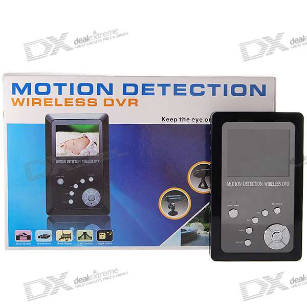 "2.5"" TFT LCD 2.4GHz Wireless Surveillance Handheld Receiver/Digital Recorder"