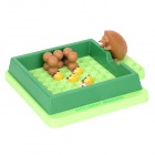 707-25 Brainteaser Puzzle Intelligent Hedgehog for Children - Green + Brown