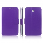 ENKAY ENK-7030 Protective PU Leather Case Cover for Samsung Galaxy Tab 3 7.0 T2100 / T2110 - Purple