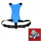 081101 Multifunktions-Sicherheits-Adjustable Car Seat / Brustgurt für Hund - Blau (M)