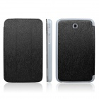 ENKAY ENK-7031 Protective PU Leather Case Cover for Samsung Galaxy Tab 3 7.0 T2100 / T2110 - Black