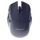 Microkingdom X3 Vogue Wireless 2.4G 1000dpi Optical Mouse - Silver Grey (1 x AAA)