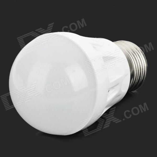MT-3W-01-ZBG E27 2.4W 80lm 6500K 17-2835 SMD LED White Light Bulb - White (Rated Voltage)