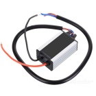 BX-DY10W Impermeable 10W 3S3P LED Driver - Negro + Plata (DC 12 ~ 24V)
