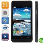 "J One mini Android 2.3.6 GSM Bar Phone w/ 4.0"", Quad-Band, FM and Wi-Fi - Black"