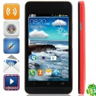 "J One mini Android 2.3.6 GSM Bar Phone w/ 4.0"", Quad-Band, FM and Wi-Fi - Red"