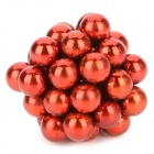 5mm NdFeB Magnetic Ball DIY BuckyBall Toys Set - Red (40 PCS)