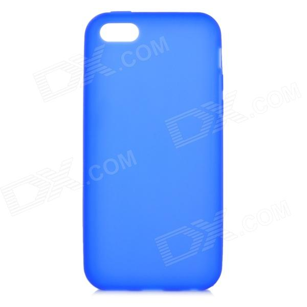 Protective Silicone Soft Case for Iphone 5C - Blue смартфон micromax bolt q341 8гб красный