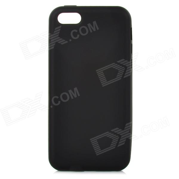Protective Silicone Soft Case for Iphone 5C - Black