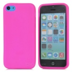Protective Silicone Back Case for Iphone 5C - Pink