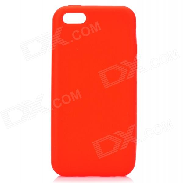 все цены на Protective Silicone Back Case for Iphone 5C - Red онлайн