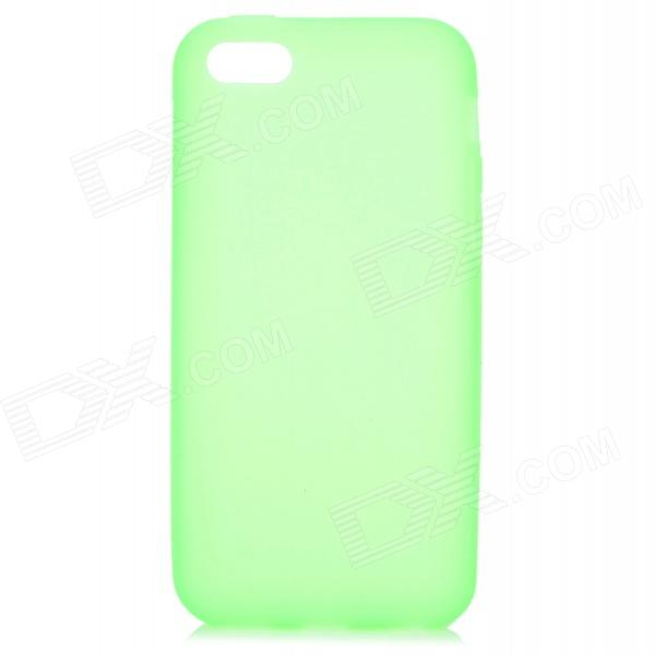 все цены на Protective Silicone Back Case for Iphone 5C - Green онлайн