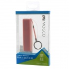 MOGCO MC-03 Perfumado Externa 2200mAh Power Bank para Iphone / Samsung / HTC / Nokia - rosa