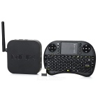 MINIX NEO X7 Mini Quad-Core Android 4.2.2 Google-Spieler w / 2GB RAM, 8GB ROM, Keyboard (EU-Stecker)
