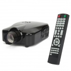 RD806 Home Theater LED Projector w/ AV IN + HDMI + VGA + AV OUT - Black