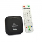 iTaSee IT808 Quad-Core Android 4.2 Google TV Player w / 2GB RAM / 8GB ROM / Wi-Fi / HDMI / TF - Schwarz