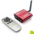 Jesurun Q7 Quad-Core Android 4.1.1 Google TV Player w/ 2GB RAM, 8GB ROM, IPTV - Red (EU Plug)