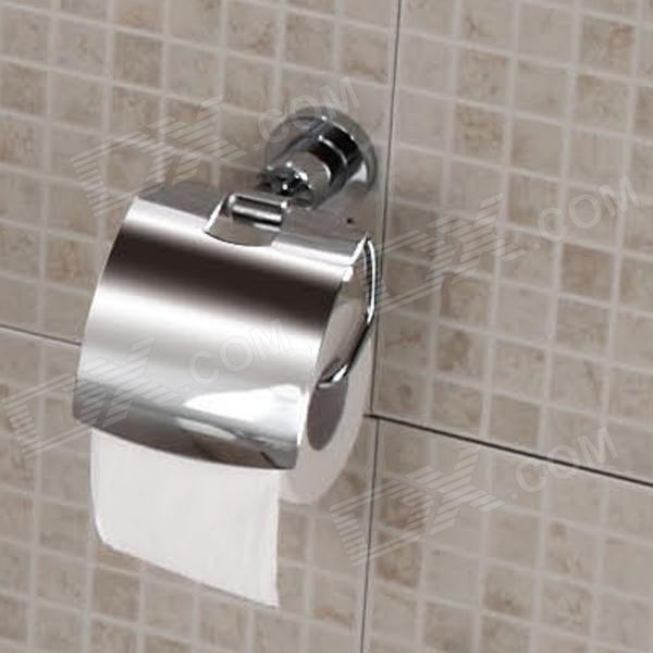 YDL-290501-CP Copper Open Toilet Roll Tissue Holder - Silver