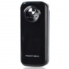 5600mAh Portable External Battery Power Source Bank for iPhone / iPod + More - Black + Silver