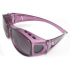 Reedoon 2222 Fashionable UV400 Protection Polarized Sunglasses Universal Set of Myopia - Purple