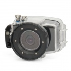 "AD-1080 2.0"" TFT 5.0 MP 1080p 80M Diving Sport Camcorder w/ 4X Zoom + Motion Detection + HD-TV"