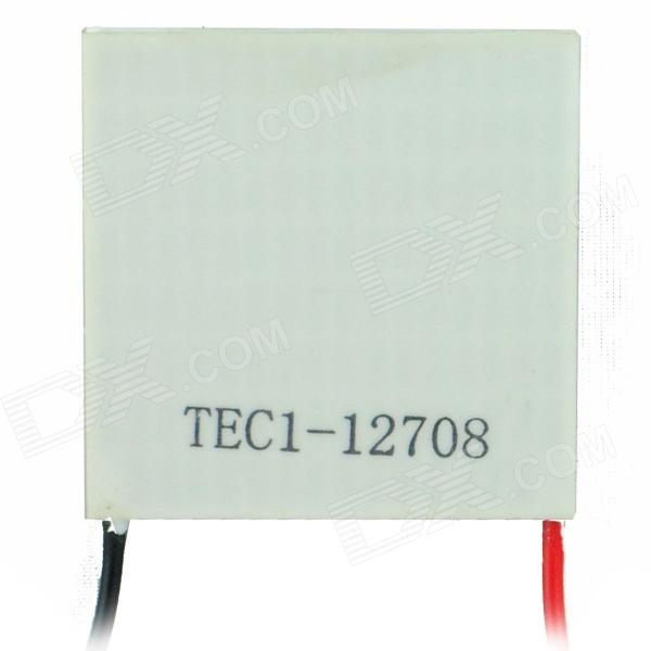 TEC1-12708 Semiconductor Refrigeration Tablets - White + Red + Black