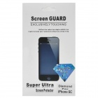 Protective Shimmering Powder Screen Protector Guard Film for Iphone 5C