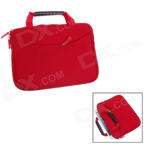 Fashionable Handbag Style Polyester + Sponge Protective Pouch for Ipad MINI - Red