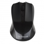 Sunrose W6100 2.4G Wireless Optical Mouse-Schwarz (2 x AAA)